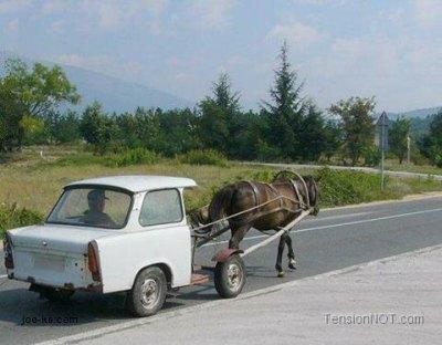Horse-Cart-Car