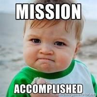 Mission::Accomplished